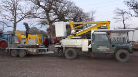 Foremost Cherry Picker & Stump Grinder